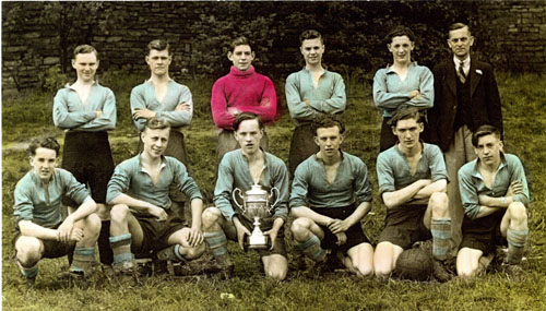 HCD Machine and Fitting Shop Football Team (18s and under) 1945