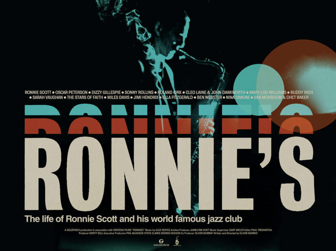 Poster artwork of the documentary film Ronnie's