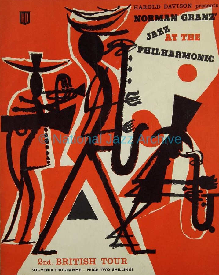Programme from the Jazz at the Philharmonic UK tour of 1959