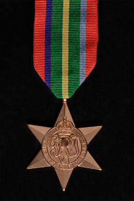 The Pacific Star medal
