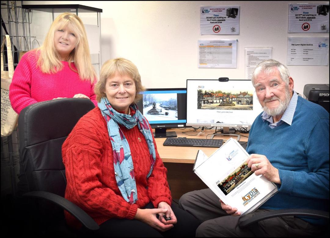 Welcome to LyDiA, the Lymm Digital Archive