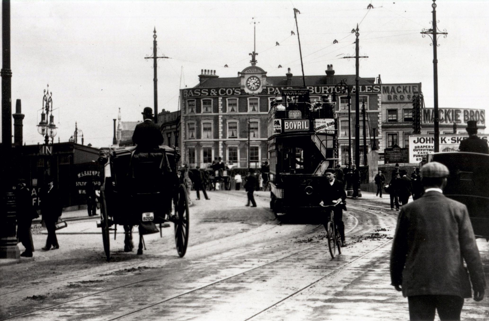 Wimbledon Bridge, 1910