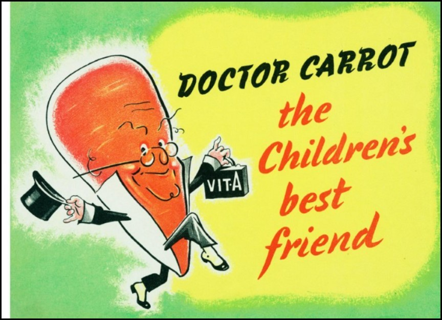 Doctor Carrot watime poster