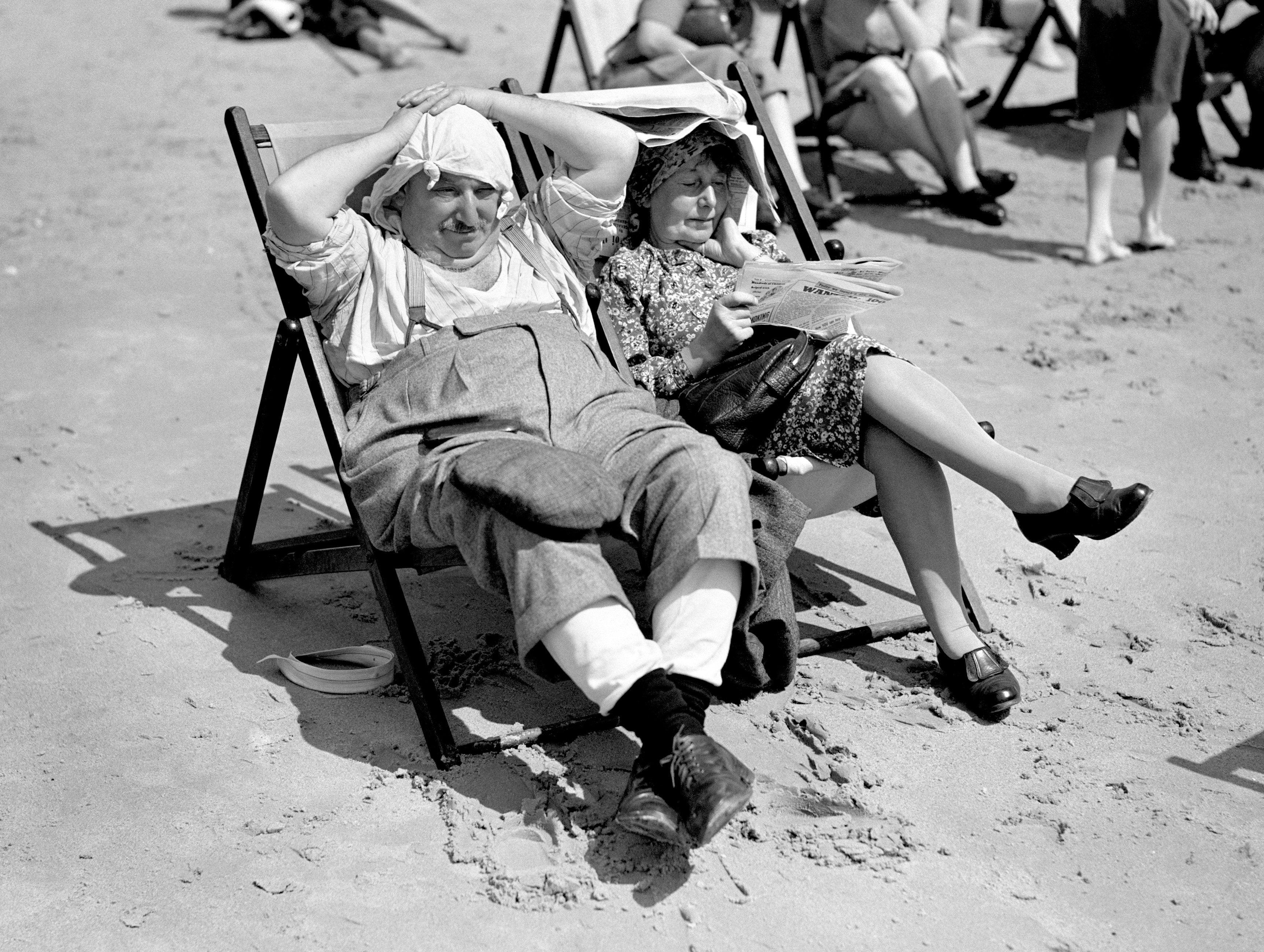 British seaside 1950s