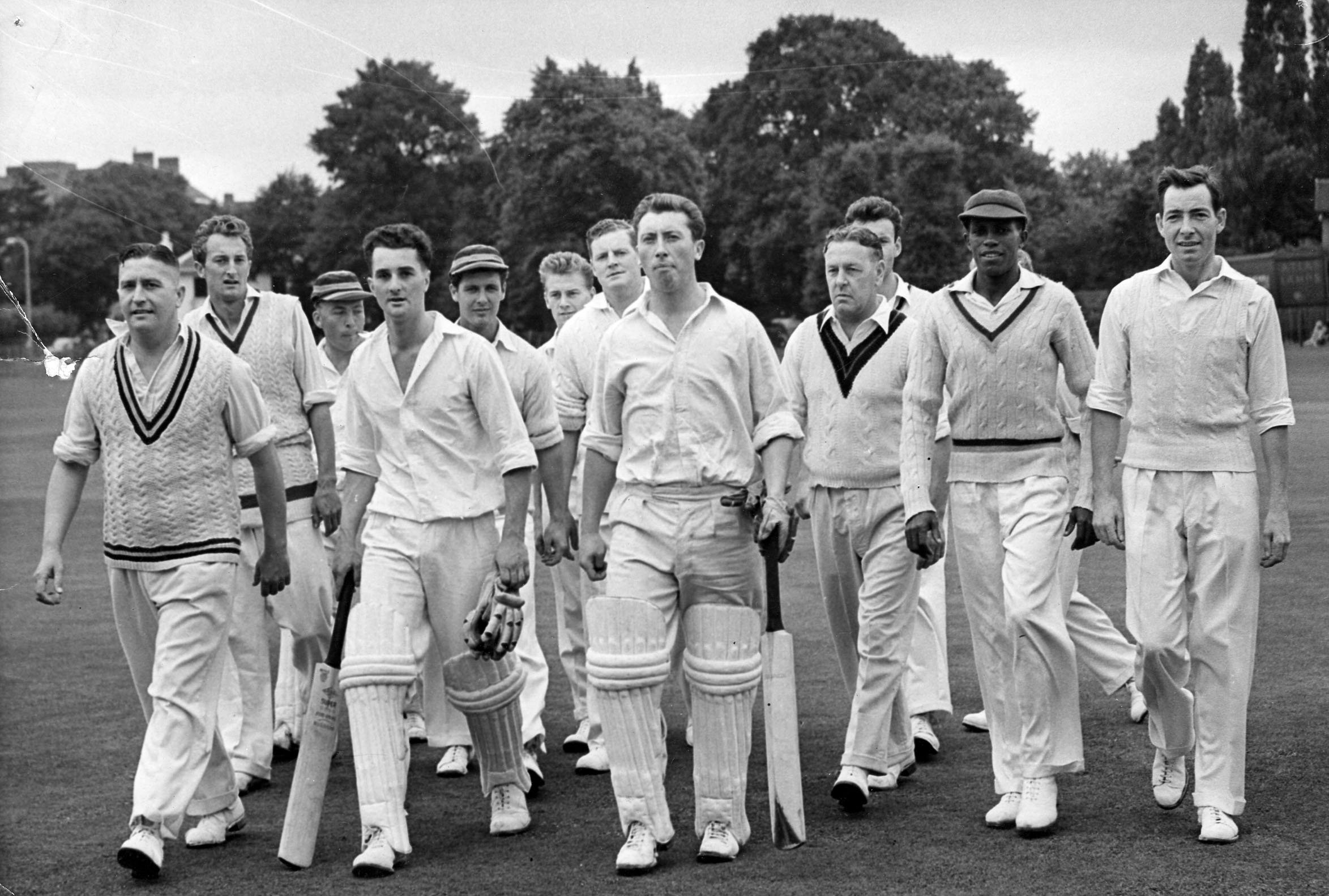 Mitcham Cricket team, 1958