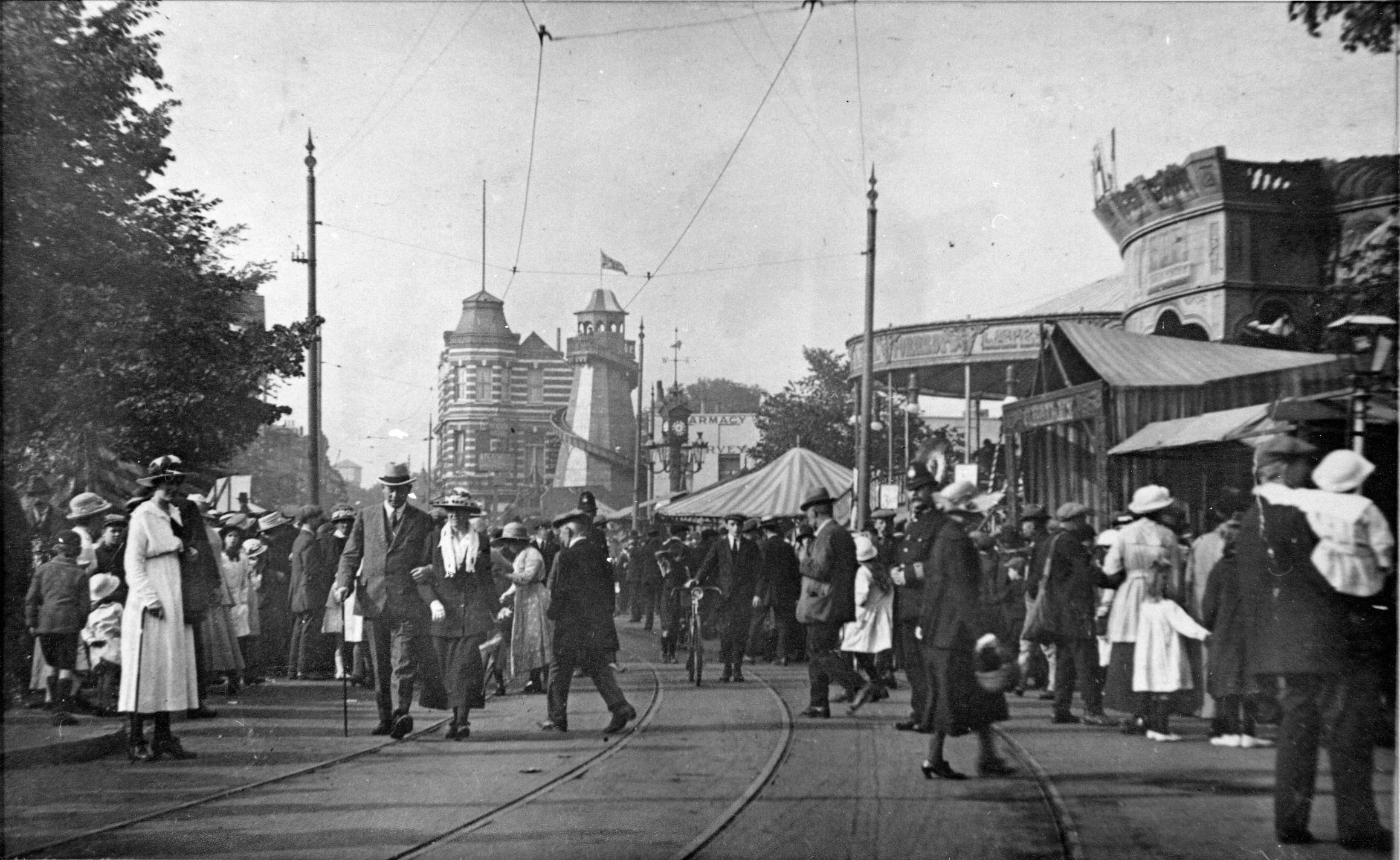 Mitcham Fair during the 1920s