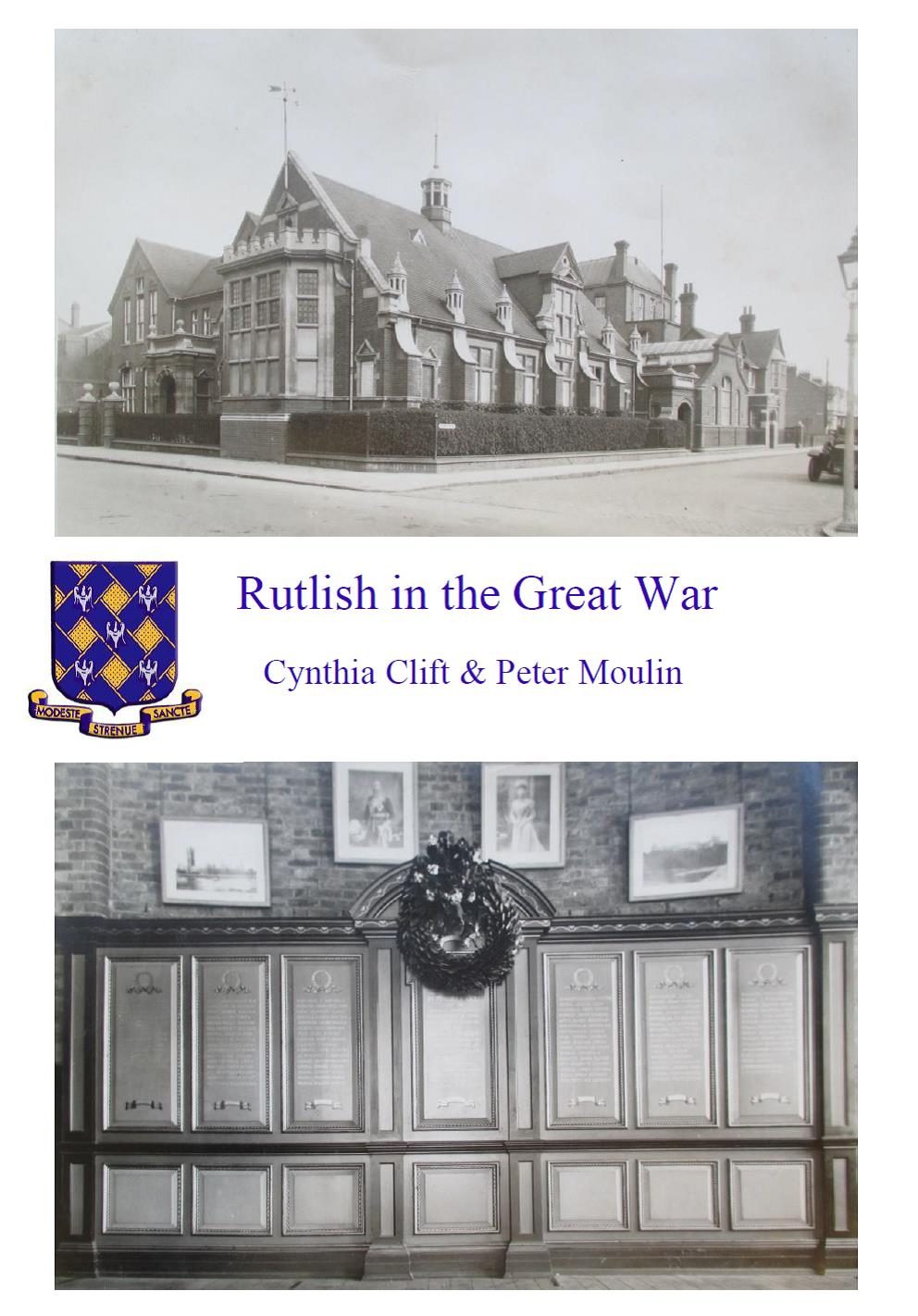 Rutlish in the Great War book cover
