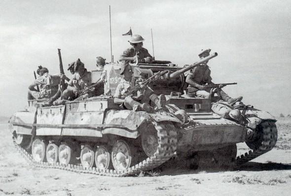 Valentine Tank, World War II