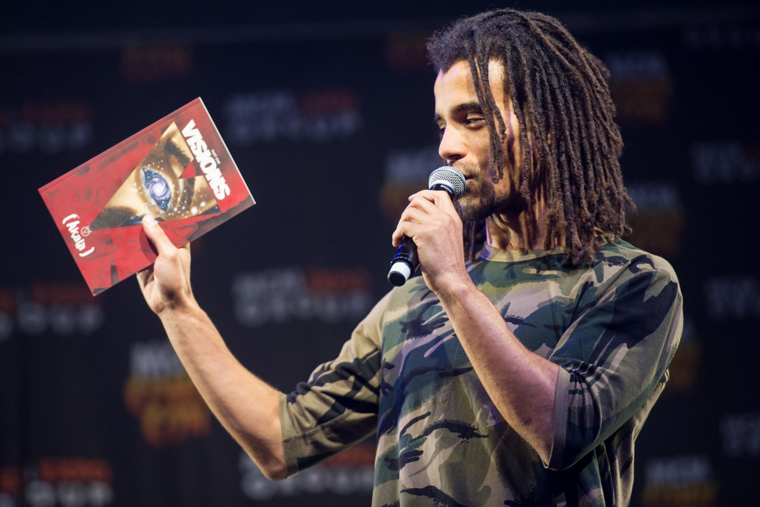 Akala, rapper and journalist
