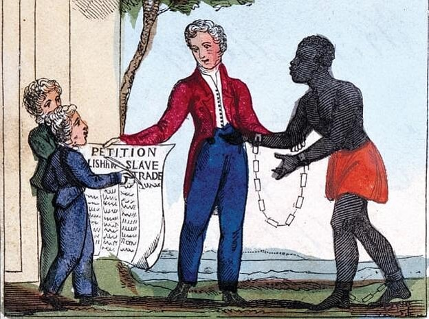 Anti-slavery cartoon