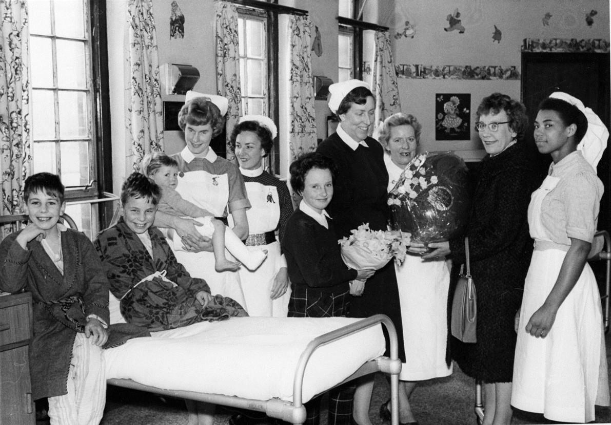 Easter at Wilson Hospital, 1962
