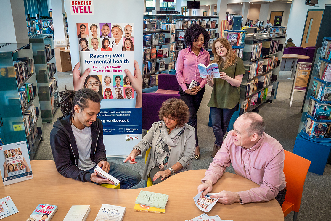 Merton Libraries reading group