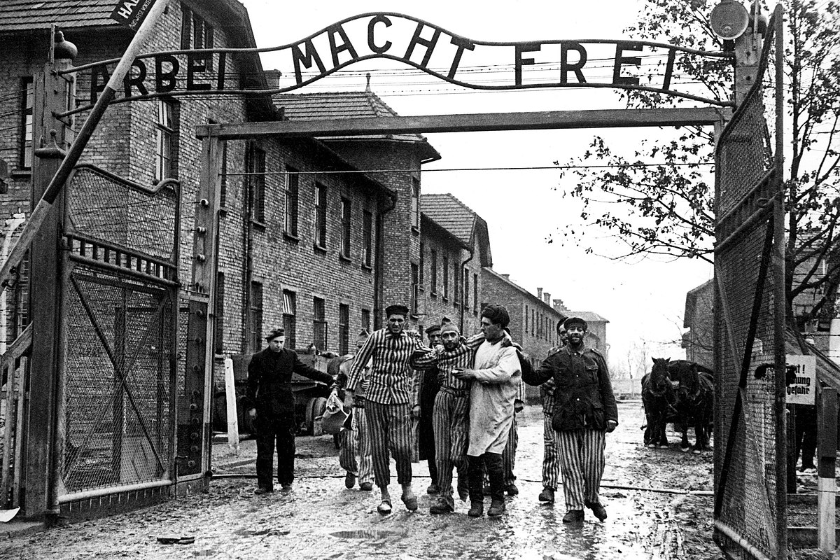 Liberation of Auschwitz 1945