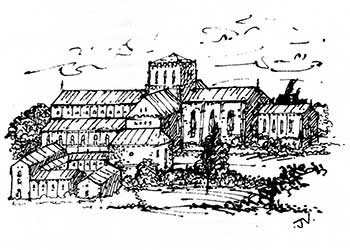Merton Priory Trust logo