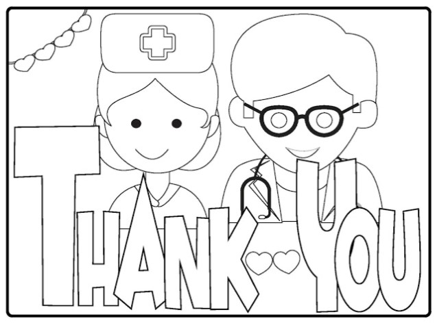 NHS Colouring sheets