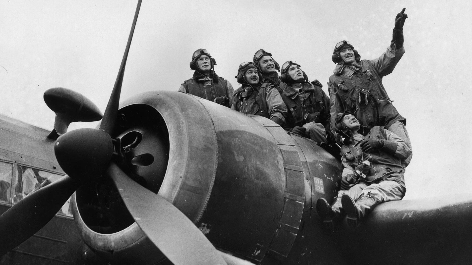 Polish airmen, World War II