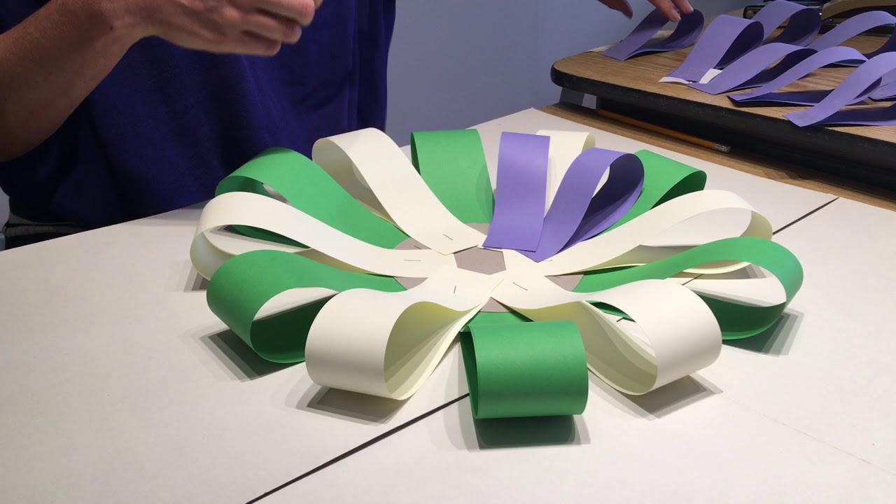 Make a suffragette rosette