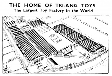 Triang toy factory, Merton