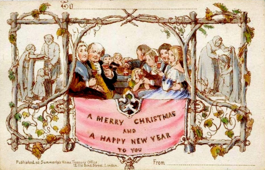 First Christmas card 1843