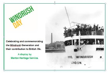 Windrush Day 2020.