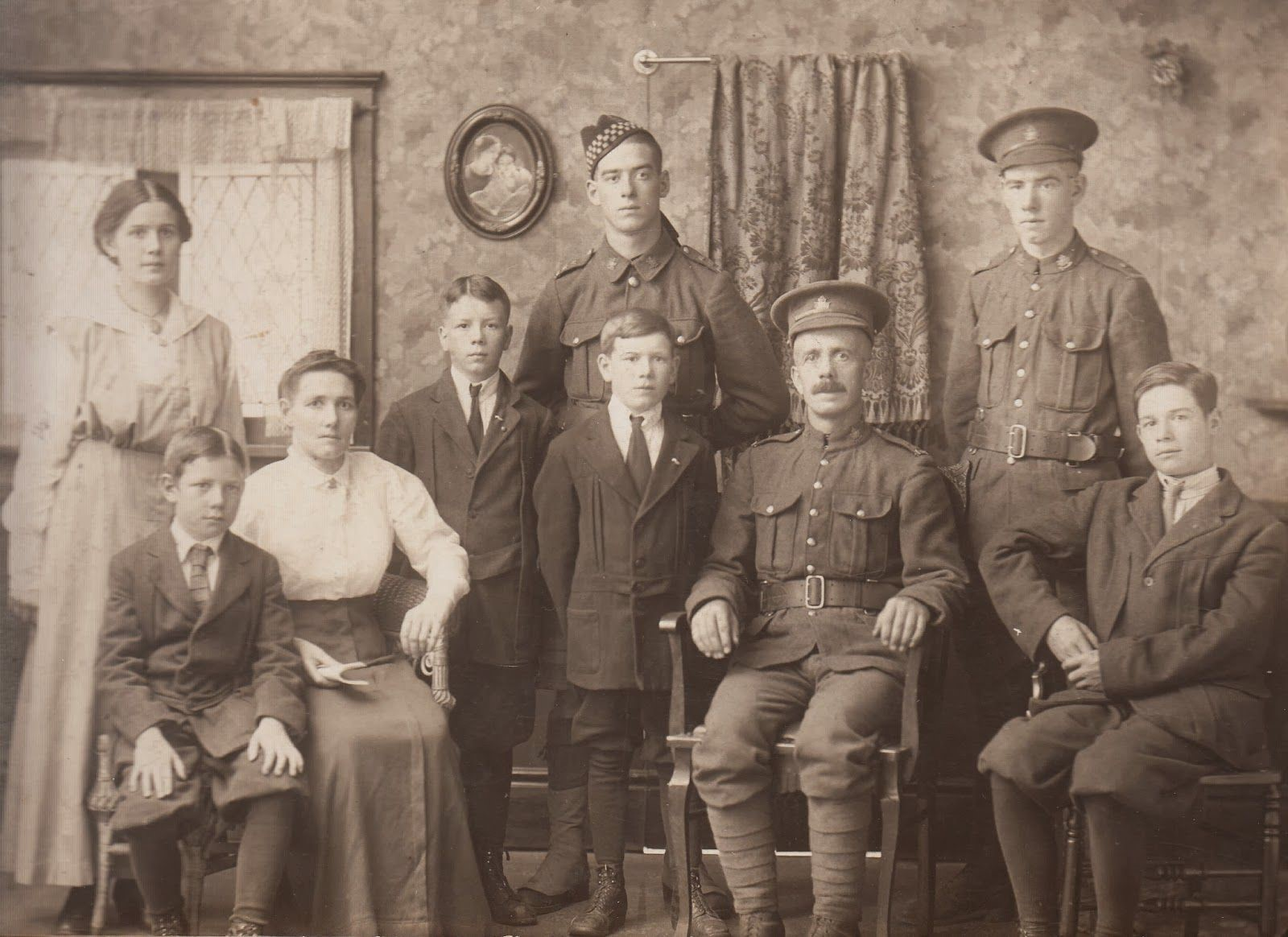 WW1 family